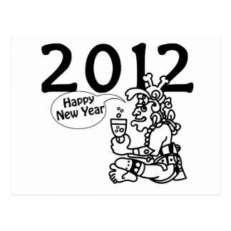 2012 -Mayan New Year Postcard