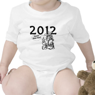 2012 -Mayan New Year Rompers