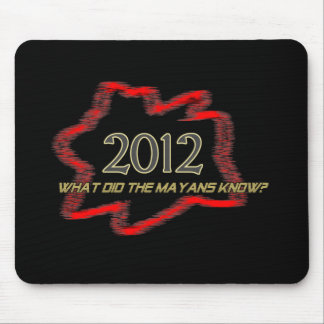 2012 Mayans Mouse Pad