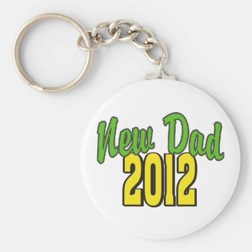 2012  New Dad Keychain