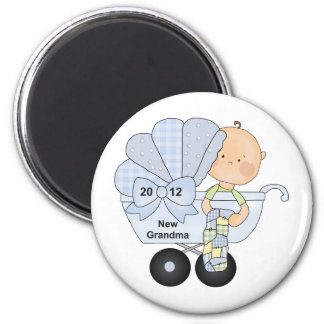 2012 New Grandma 6 Cm Round Magnet
