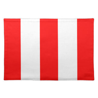 2012 New Red & White Stripe Placemat Gift
