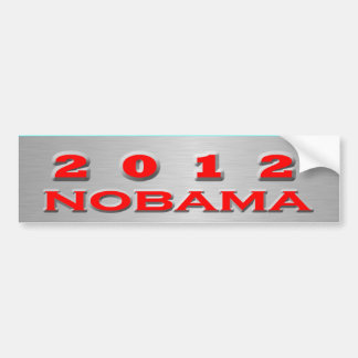 2012 Nobama Bumper Sticker