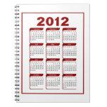 2012 Notebook Calendar