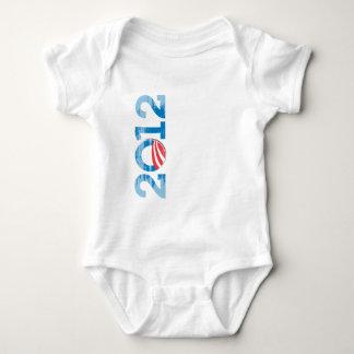 2012-OBAMA Vintage.png Baby Bodysuit