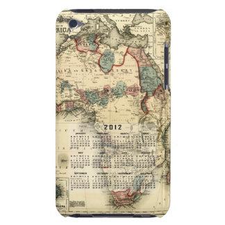 2012 opaque Calendar Template iPod Case-Mate Case