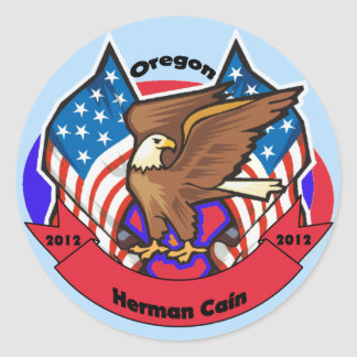 2012 Oregon for Herman Cain Stickers
