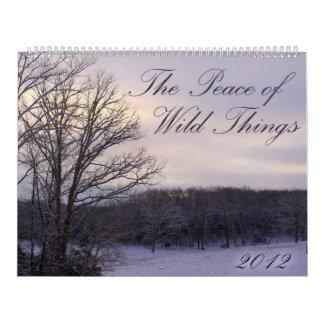 2012 Peace of Wild Things Calendar