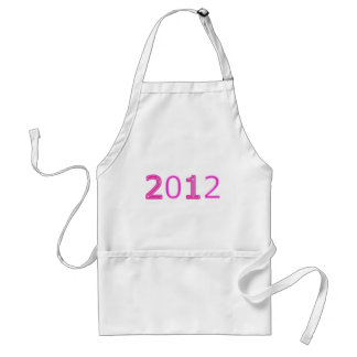 2012 Pink Items Standard Apron