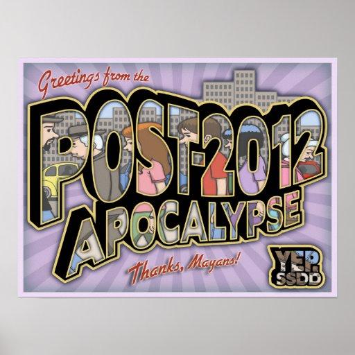 2012-Post-Apocalypse Print