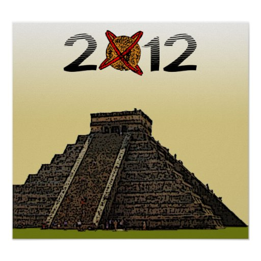 "2012 Posters ""Mayan Kukulkan Chichen Itza"" v2"