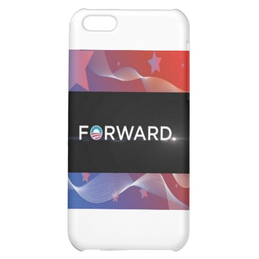 "2012 Presidential Election ""Forward"" Slogan Gear Case For iPhone 5C"