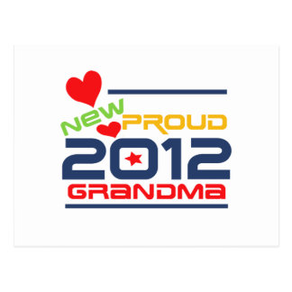 2012 Proud Grandma T-shirts and Gifts Postcard