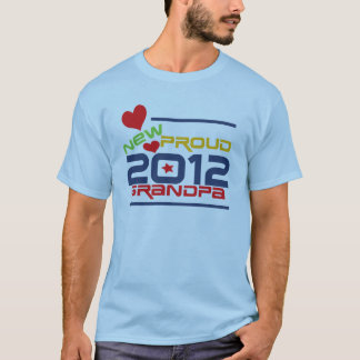 2012 Proud Grandpa T-shirts and Gifts