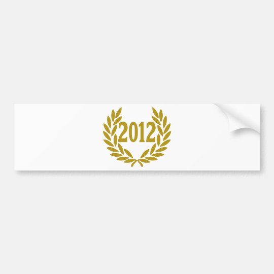 2012-real-laurel-crown bumper sticker