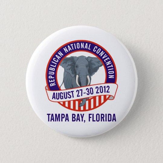 2012 Republican Convention 6 Cm Round Badge