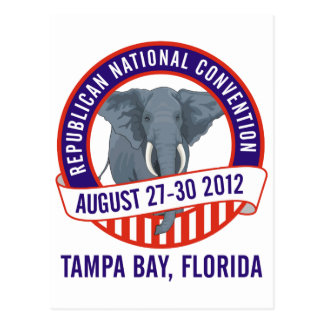 2012 Republican Convention Postcard
