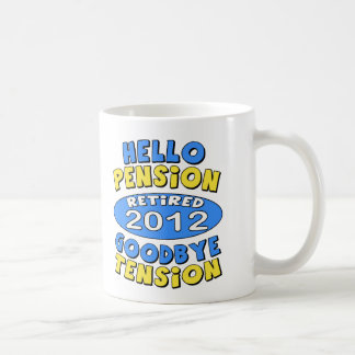 2012 Retirement Coffee Mugs