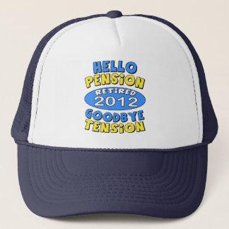 2012 Retirement Trucker Hat