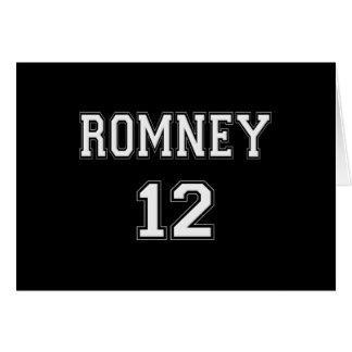 2012 Romney Greeting Card