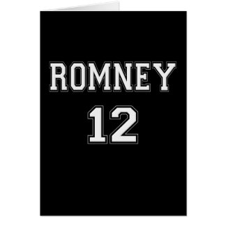2012 Romney Greeting Card