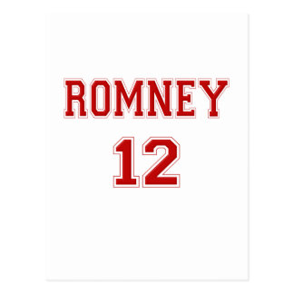 2012 Romney Postcard