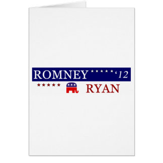 2012 Romney Ryan Campaign Greeting Card