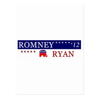 2012 Romney Ryan Campaign Postcard