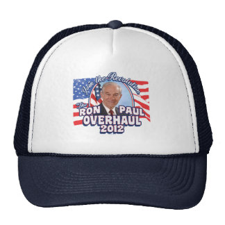 2012 Ron Paul Overhaul Cap