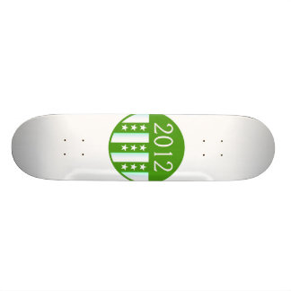 2012 Round Seal Green Color Party Version 21.6 Cm Skateboard Deck