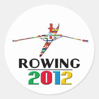 2012: Rowing Sticker