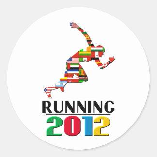 2012: Running Round Stickers