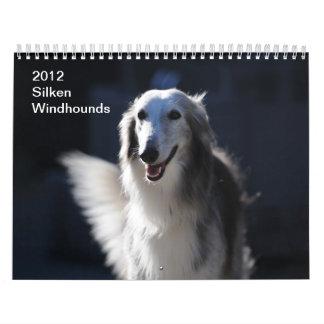 2012 Silken Windhounds Wall Calendars
