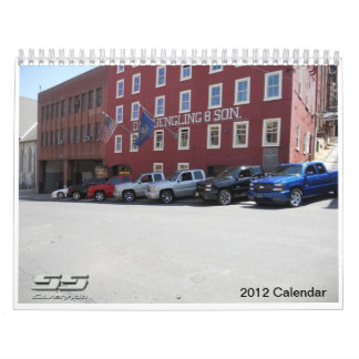 2012 Silverado SS Calendar
