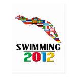 2012: Swimming Post Card