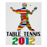 2012: Table Tennis Posters