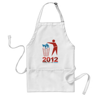 2012 Trash Dems Standard Apron