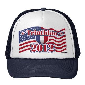 2012 Triathlon Hats