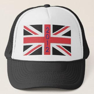 2012 Union Jack flag of Britain Hat