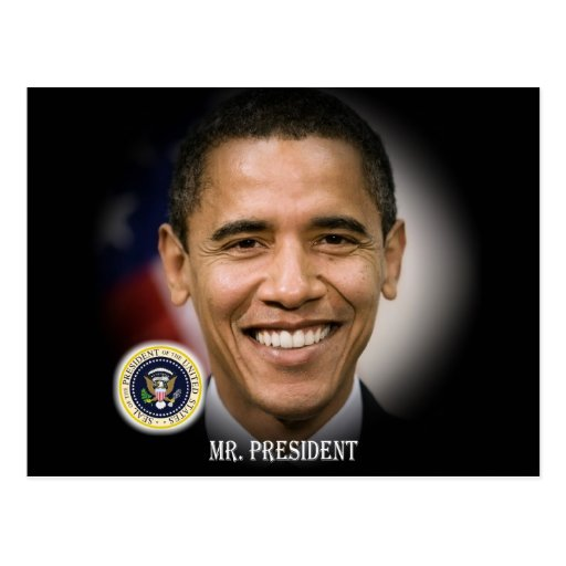 2012 US President Barack Obama Post Cards