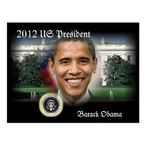 2012 US President Barack Obama Postcards