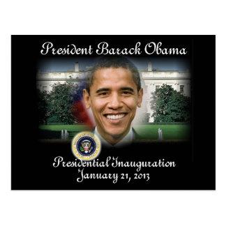 2012 US President Barack Obama Post Card