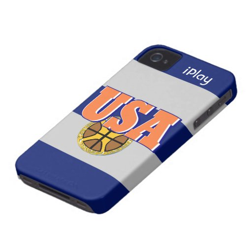 2012 USA Sports Basketball Fan iPhone Case Gift iPhone 4 Case-Mate Case