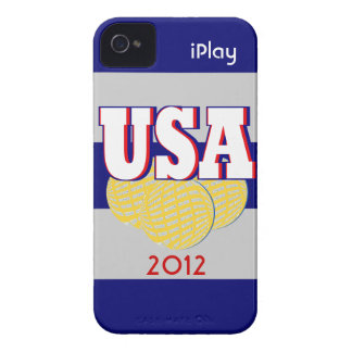 2012 USA Sports iPlay iPhone Case Athletic Gift iPhone 4 Case-Mate Case
