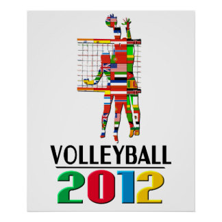 2012: Volleyball Poster