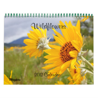 2012 Wildflowers Calendar