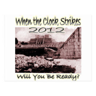 2012 Will You Be Ready Post Card