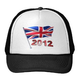 2012 with Britain flag Cap
