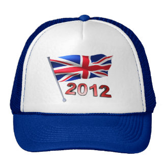 2012 with Britain flag Hats