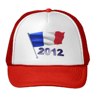 2012 with French flag Cap